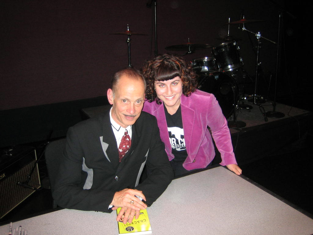 Me and John Waters 2007