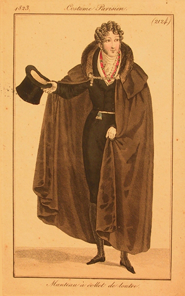 Illustration from Costume Parisien, 1823.