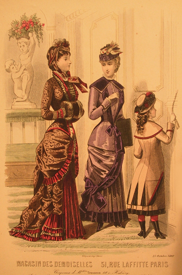 Illustration from Magasin des Demoiselles, 1880.