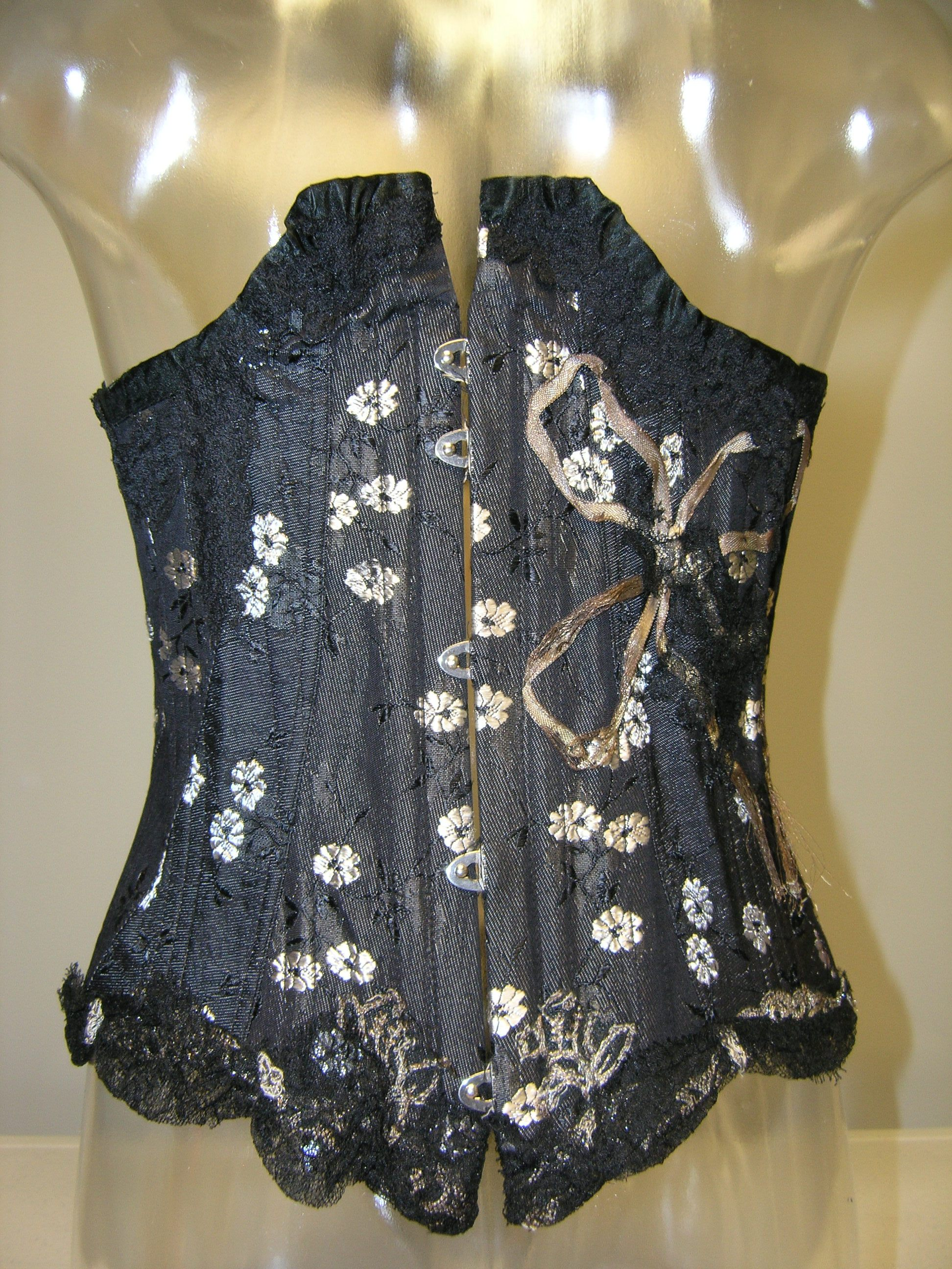 Mae West Corset. c. 1945. Gift of Kevin Thomas in Memory of Dolly Dempsey. FIDM Museum Collection. Copyright FIDM Museum.