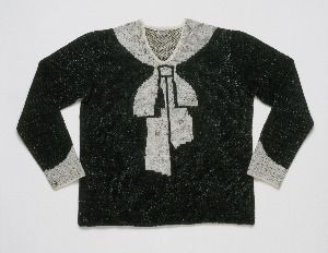 1927 Sweater by Schiaparelli, Philadelphia Museum of Art