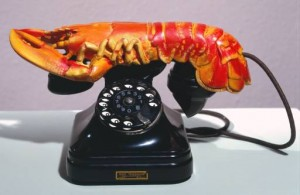 Lobster Telephone, 1936 Salvador Dali (Tate Collection)