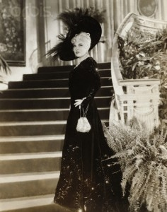 Mae West in Every Day's a Holiday in a costume designed by Schiaparelli