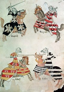 jousting-knights-from-sir-thomas-holmes-book-15th-cent