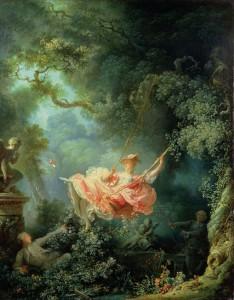 """The Swing"" by Fragonard, 1766"