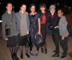 Erica De Greef, Helena Beks, Karen Heard, Sölen Kipöz, Kim Cunningham, and Ericka Basile