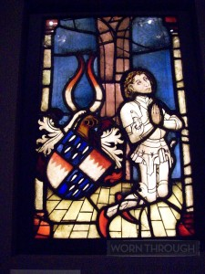 Kneeling Knight in Prayer, C. 1470 Southern Germany.