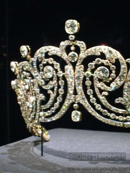 Tiara, Cartier Paris, 1902, Diamonds, silver and gold, Sold to Adele Grant, Countess of Essex. Phogoraph by Ren Thompson.