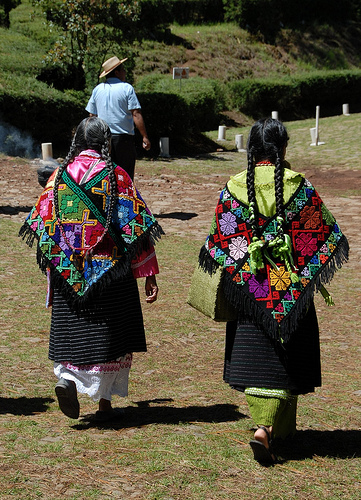 Two Mazahua Women of Mexico