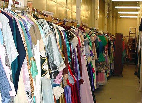 costume shop clothes