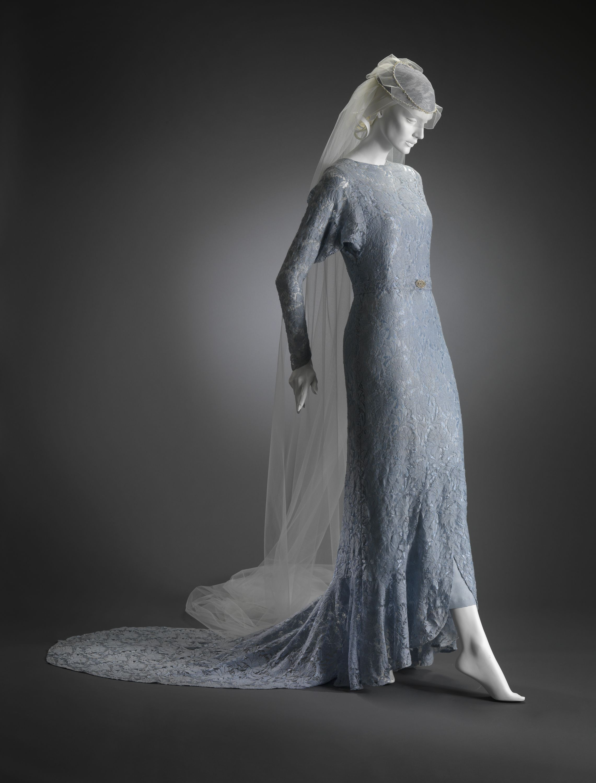 Simple strapless sweetheart flat pleated beads working empire waist ball gown wedding blue dress bgwd 091