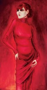 Portrait of the Dancer Anita Berber by Otto Dix, 1925