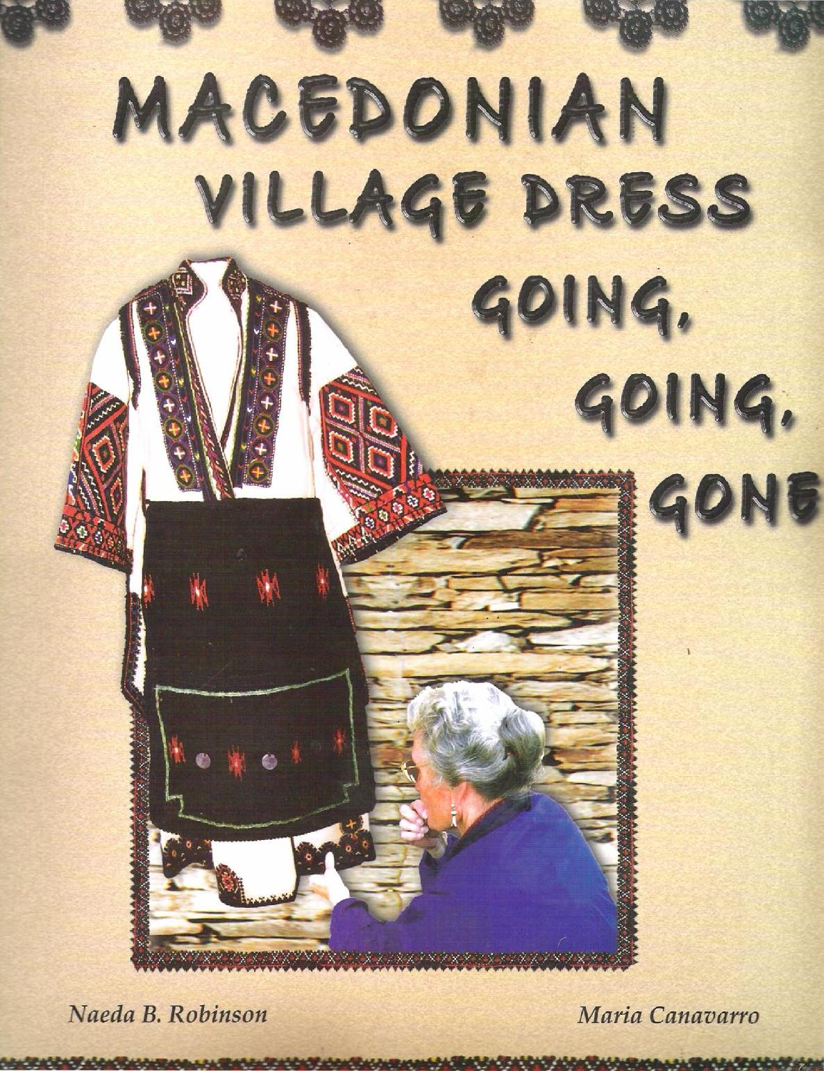 Macedonian Village Dress by Naeda B. Robinson