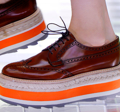 Prada shoes, Spring 2011