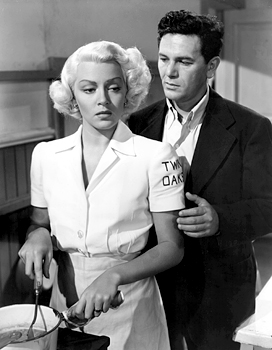 POSTMAN ALWAYS RINGS TWICE, Lana Turner, John Garfield, 1946