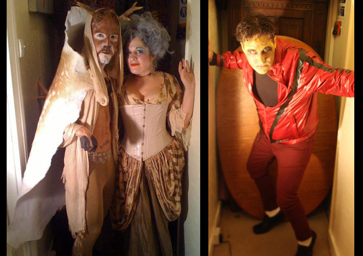 Some Halloween costumes from London 2011