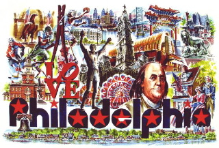"""I Love Philadelphia,"" by William C. Ressler, sourced online."