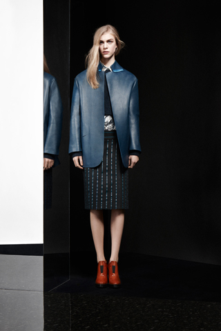 A look from Acne's Pre-Fall 2012 Collection, shown in Paris earlier this year. From Style.com. Photo: Courtesy of Acne.