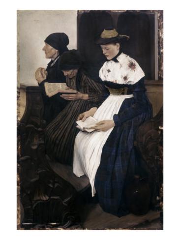 wilhelm-leibl-three-women-in-church