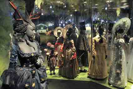 The Pleasure Garden display at the Museum of London