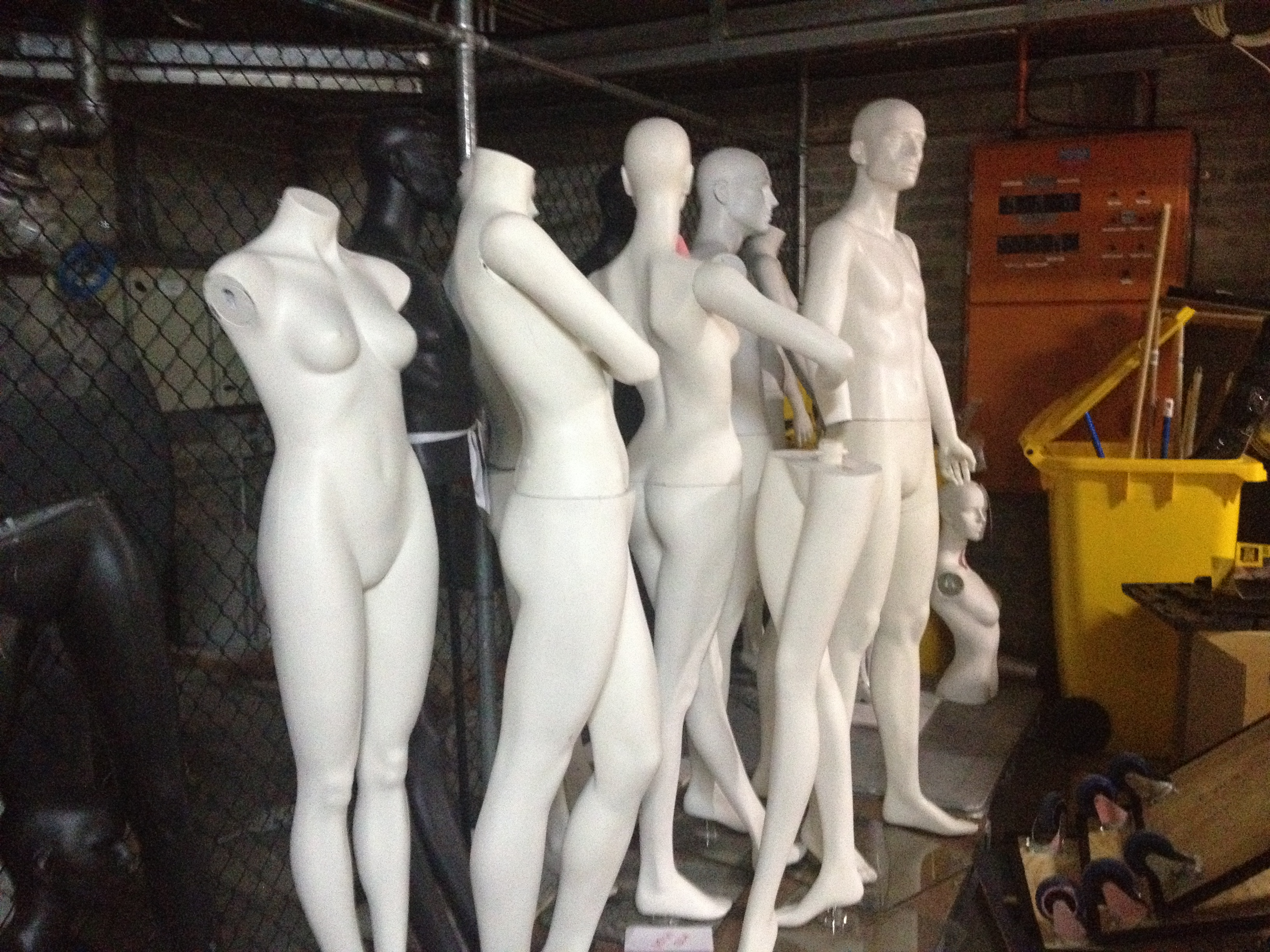The mannequin store at the Powerhouse Museum, Sydney, Australia. Photo: Rebecca Evans
