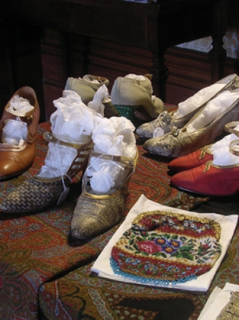 Shoes and accessories from Tyntesfield House