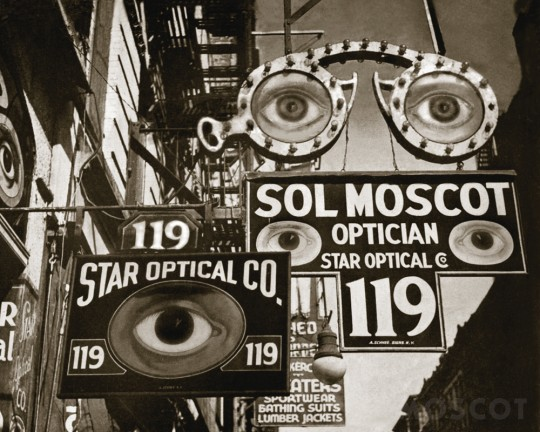 Moscot Shop at 119 Orchard, New York 1932