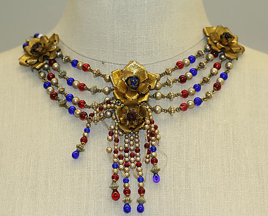 Necklace, House of Chanel, metal, 1947, Collection: Metropolitan Museum, New York, USA