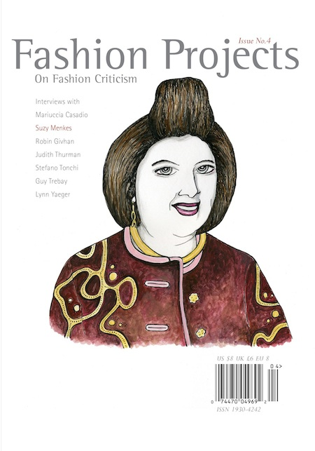 Fashion Projects, On Fashion Criticism cover