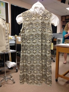 Tahari, wool with embellishments.<br />Photo: Kelly Cobb