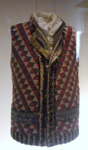 Revolutionary Waistcoat - 1789/1794 Photo Hayley Dujardin, 2013