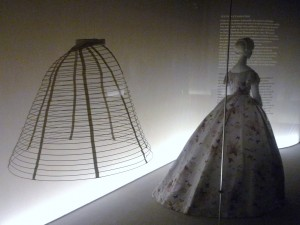Mid 19th century Crinoline and French Dress, 1865 Photo Hayley Dujardin, 2013
