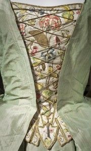 Detail of the 1725 Robe à la Française