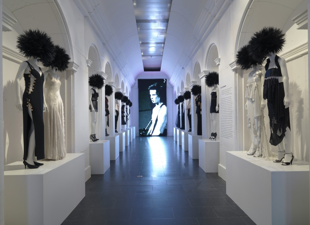 Installation Shot, DIY Hardware, Punk: Chaos to Couture, Courtesy of the Metropolitan Museum of Art