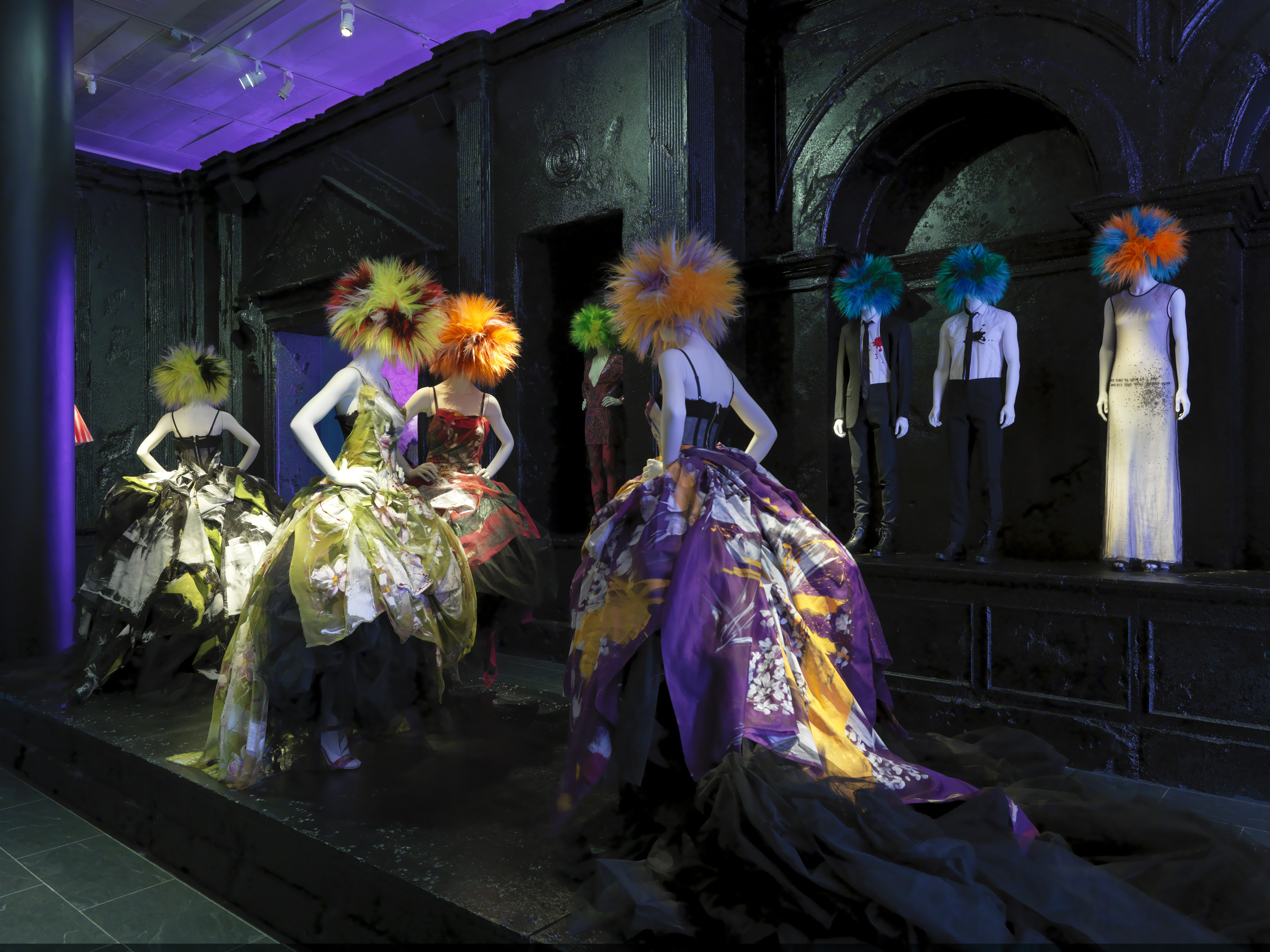 fashion in the museum punk chaos to couture at the