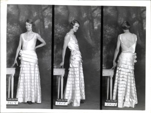 Registered Model - Paquin - Robe du soir - 13/08/1931 Copyright: Archives de Paris/D12U10297