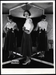 Registered Model - Madeleine Vionnet - Robe de jour - 3/02/1931 Copyright: Archives de Paris/DU12U10365
