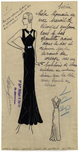 "Registered Model - Philippe & Gaston - Robe du soir "" Sirène"", 16/09/1931 Copyright: Archives de Paris/DU1210392"
