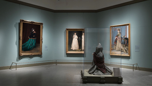 Impressionism, Fashion and Modernity, Gallery 1 Installation Shot, Courtesy of the Metropolitan Museum of Art
