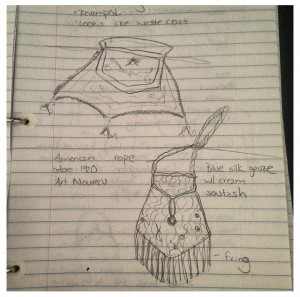 Illustrations from my graduate school notebook, 2008.