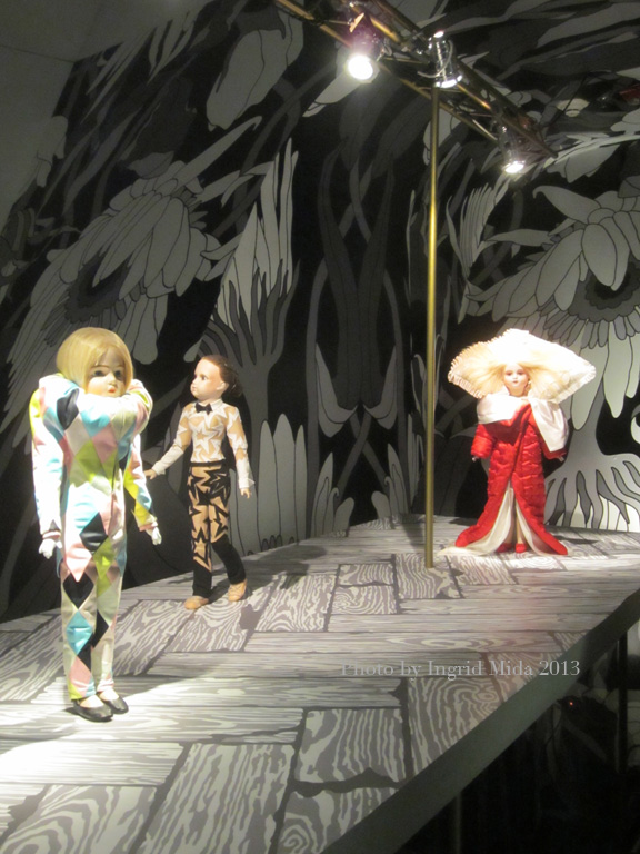 Viktor&Rolf Dolls on Runway Luminato Exhibit