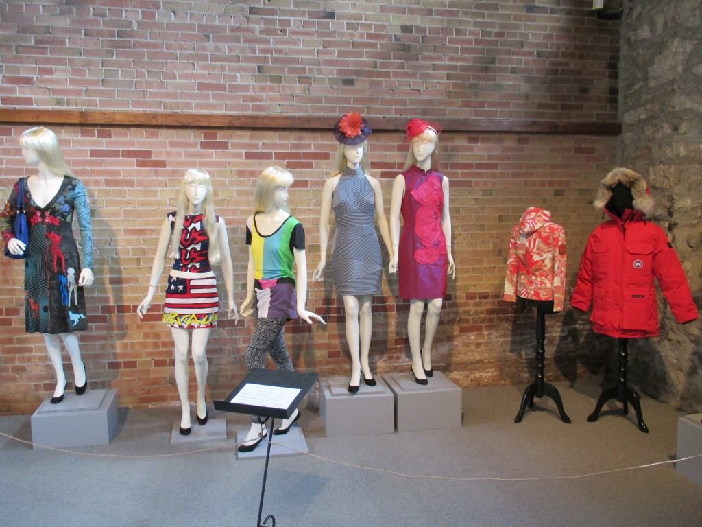 Recent Acquisitions Fashion History Museum Gallery 2 Installation Shot Photo by Ingrid Mida 2013