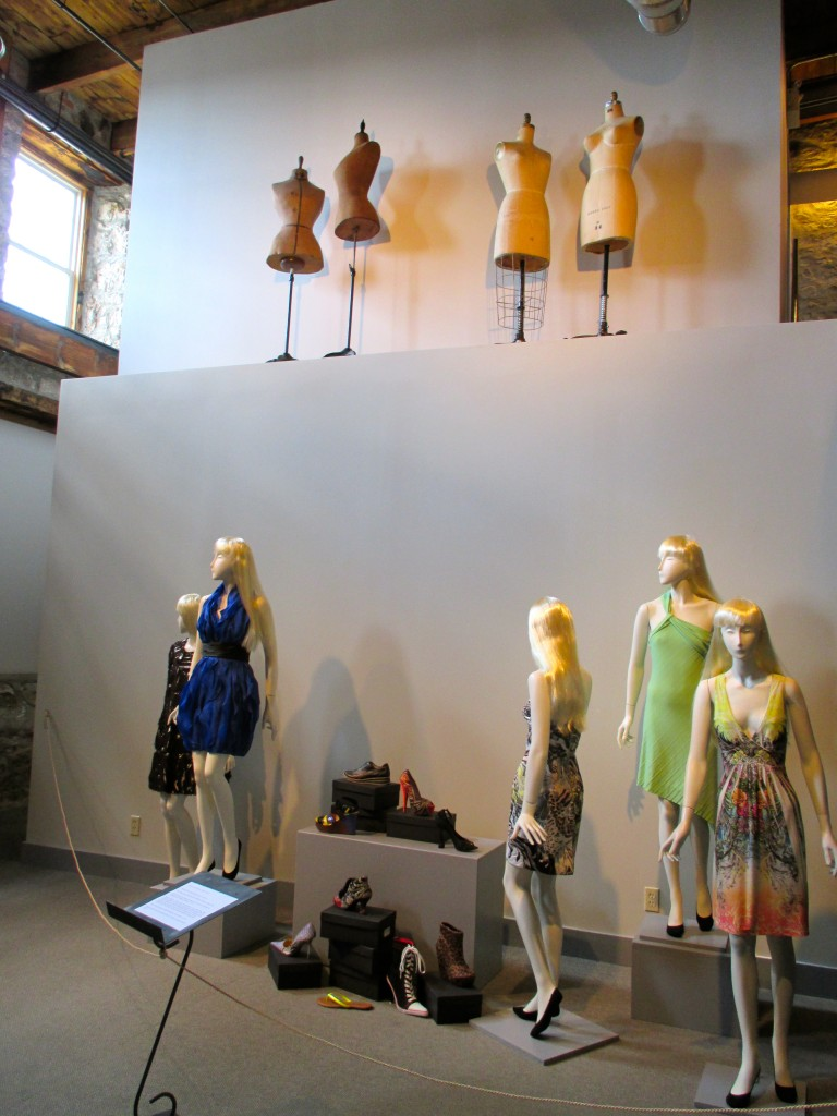 Fashion History Museum  Cambridge, Ontario Installation Shot Photo by Ingrid Mida 2013