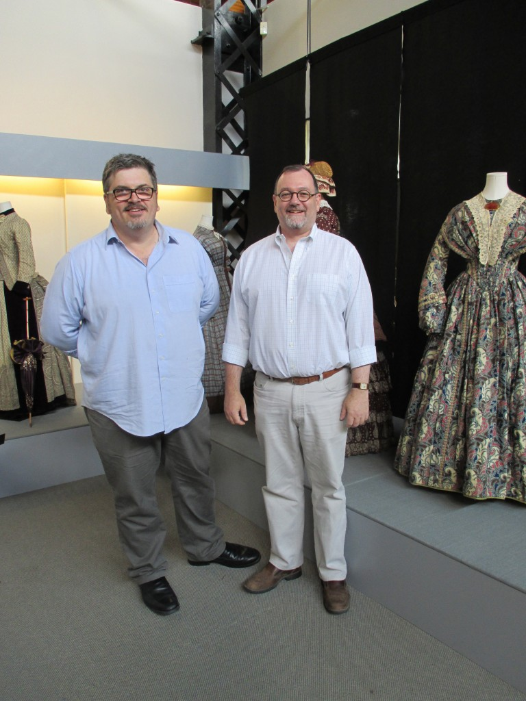 Fashion History Museum Founders Jonathan Walford and Kenn Norman Photo by Ingrid Mida 2013