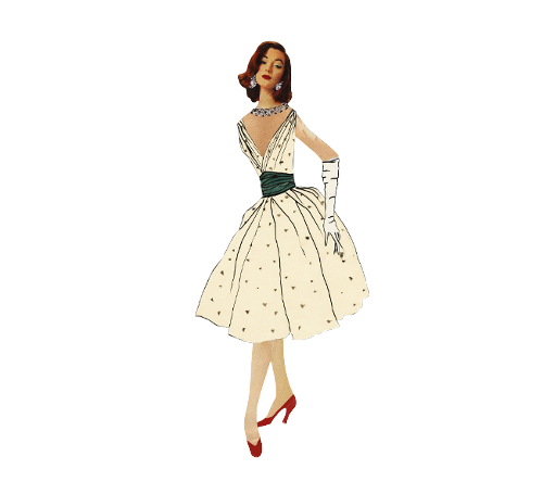 Paper Doll 'Ivy' Copyright: Fondation Pierre Bergé - Yves Saint Laurent