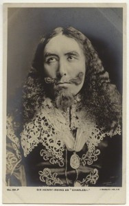 NPG x160516; Sir Henry Irving (John Henry Brodribb) as 'King Charles I' by London Stereoscopic & Photographic Company, published by  J. Beagles & Co