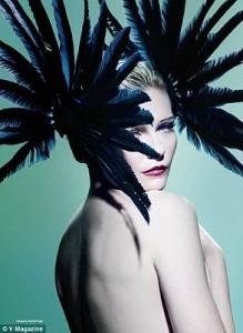 Kirsten Dunst Feathers V Mag