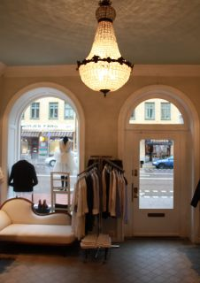 Interior of Fillipa K Second Hand store on Hornsgatan in Stockholm, 2013. From their website.
