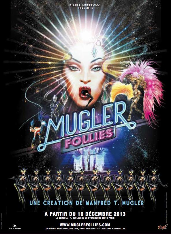 Mugler Follies Poster