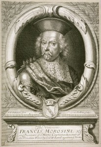 Robert White (English, 1645–1703) After Pieter van Sickeleers, called Saturnus (Flemish, active 17th century) Portrait of Francis Morosini, 17th century Engraving Achenbach Foundation for Graphic Arts 1963.30.11134